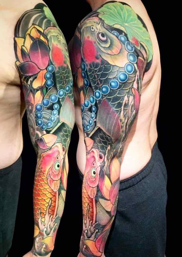 Koi Tattoo - Horiyen
