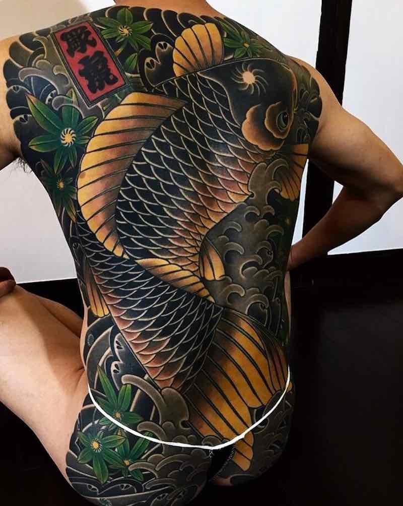 Koi Tattoo by Hori Tora