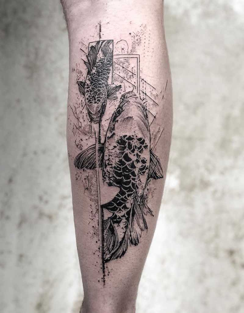 Koi Tattoo by Koit