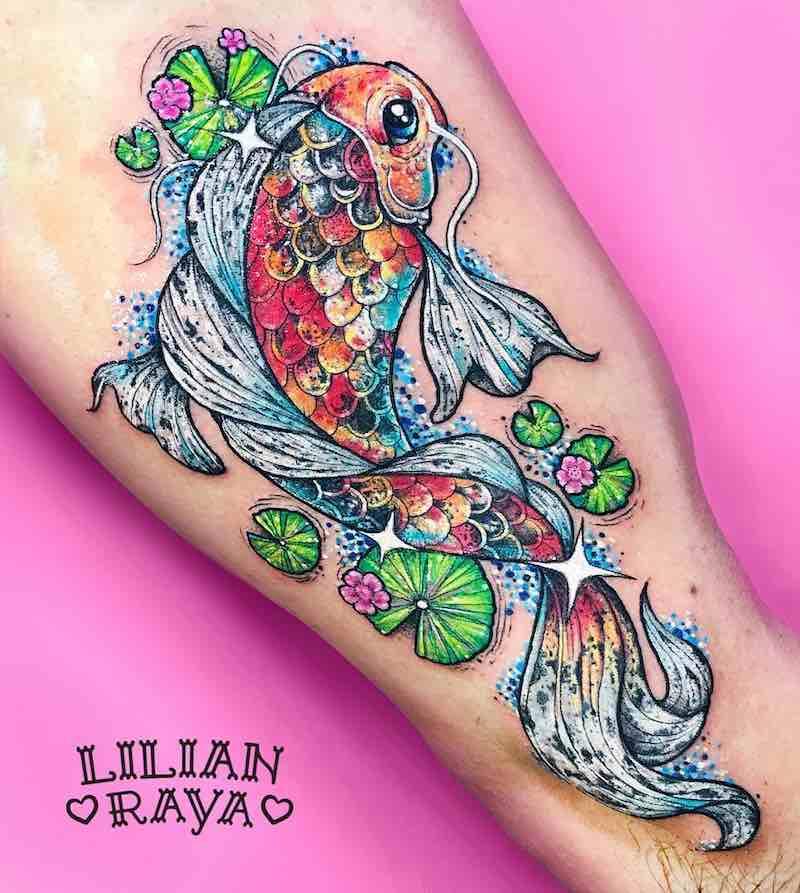 Koi Tattoo by Lilian Raya