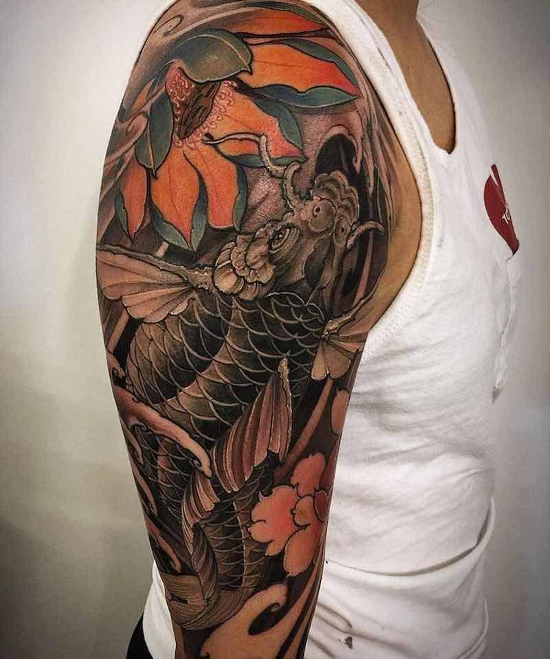 Koi Tattoo by Louisa