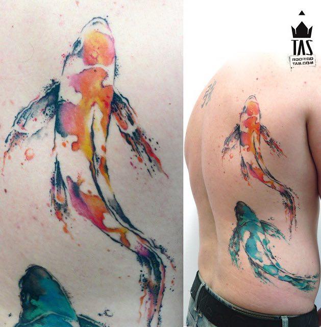 Koi Tattoo by Rodrigo Tas