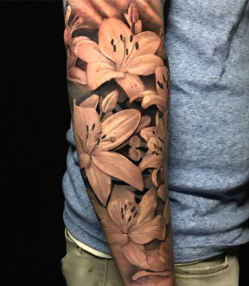 Lily Tattoo by Pony Lawson