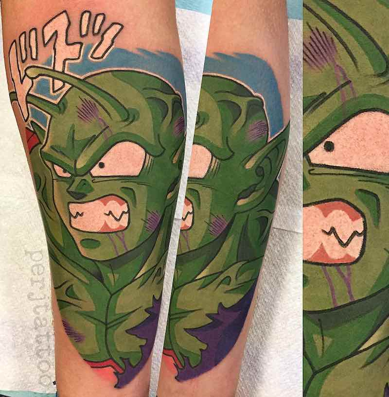 Piccolo Tattoo by Adam Perjatel