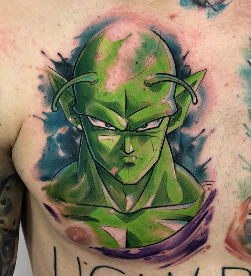 Piccolo Tattoo by Rzychu