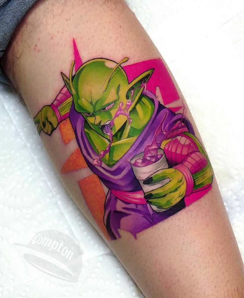 Piccolo Tattoo by Steven Compton