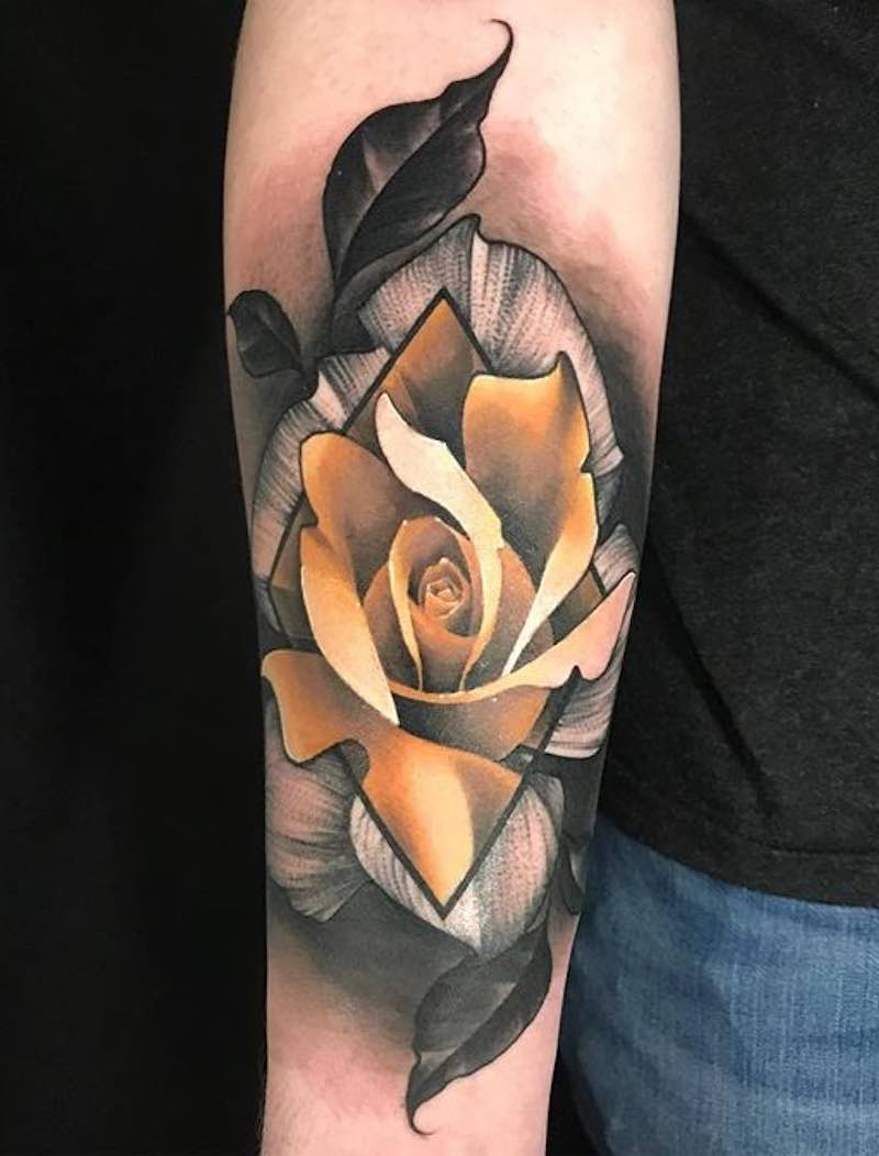 Rose Tatto by Keith Miller