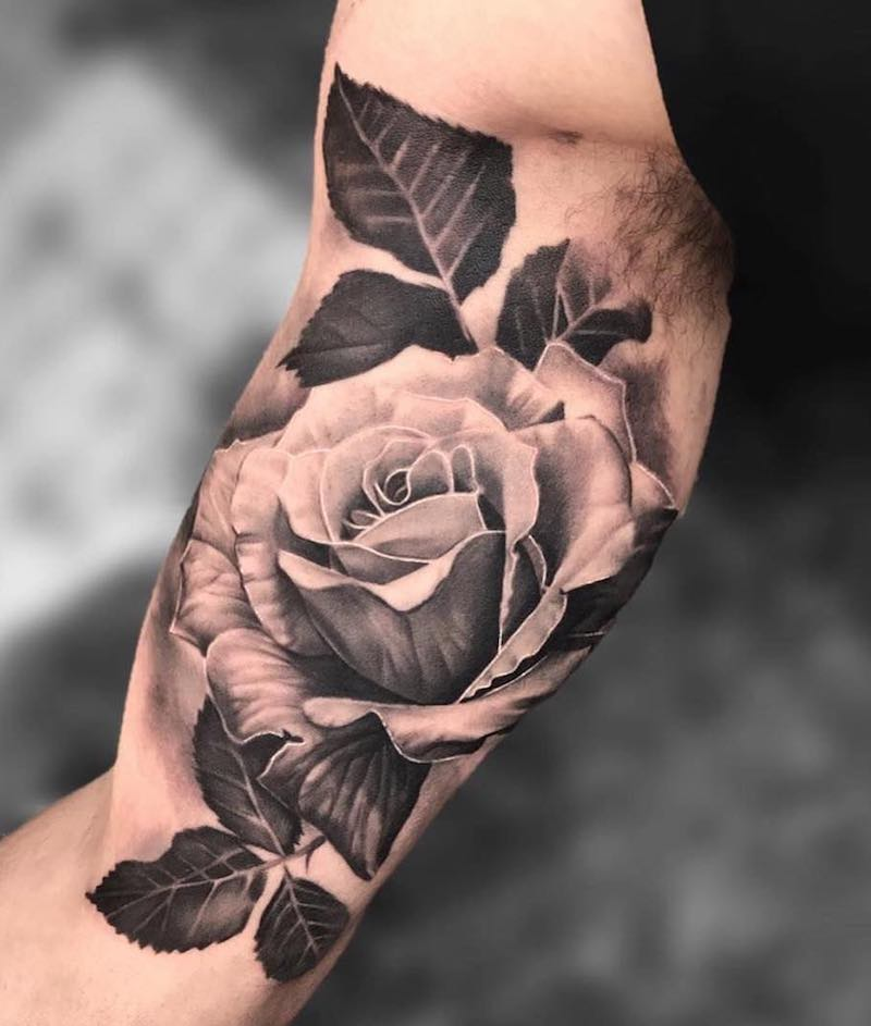 Rose Tattoo by Joey Boon