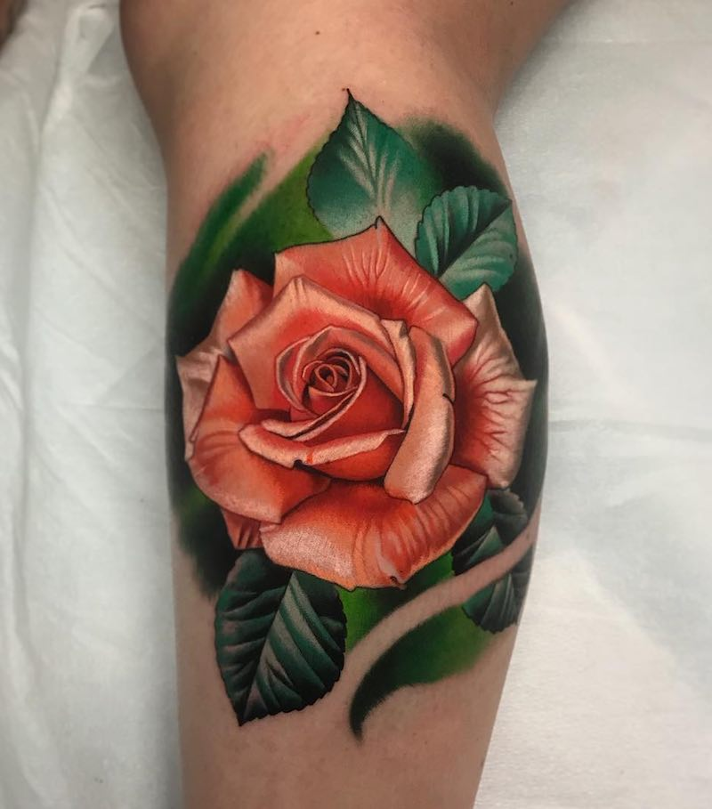 Rose Tattoo by Paul Marino