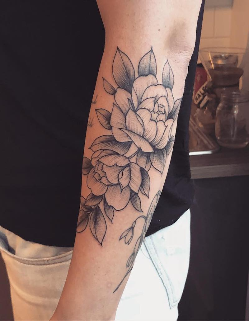 Rose Tattoo by Vanessa