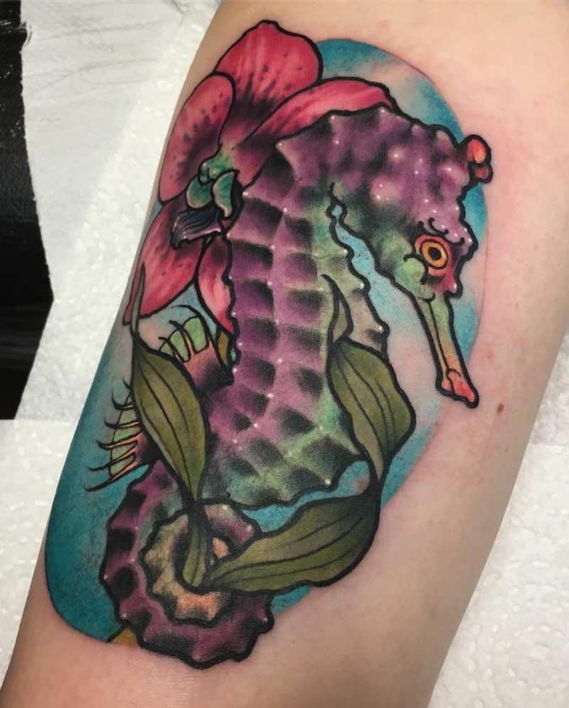 Seahorse Tattoo - Rizza Boo