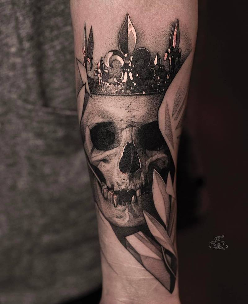 Skull Tattoo by Alex Sorsa