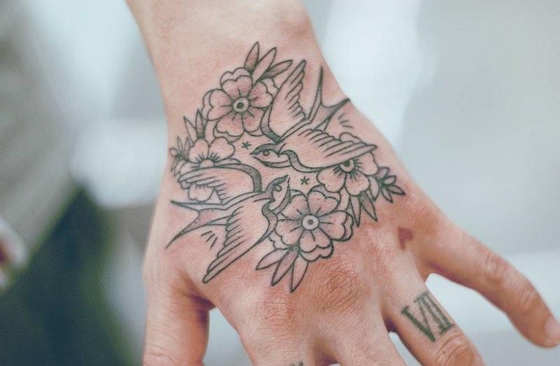 Swallow Tattoo by Seoeon