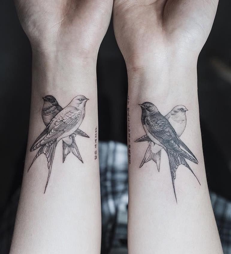Swallow Tattoo by Sol Tattoo