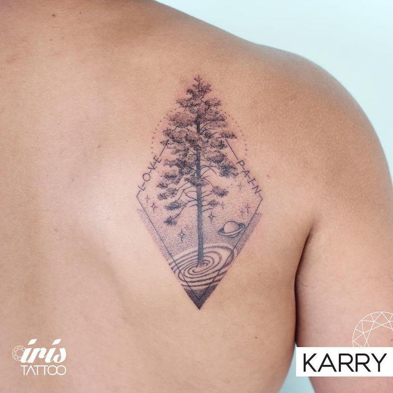 Tattoo by Karry Ka-Ying Poon