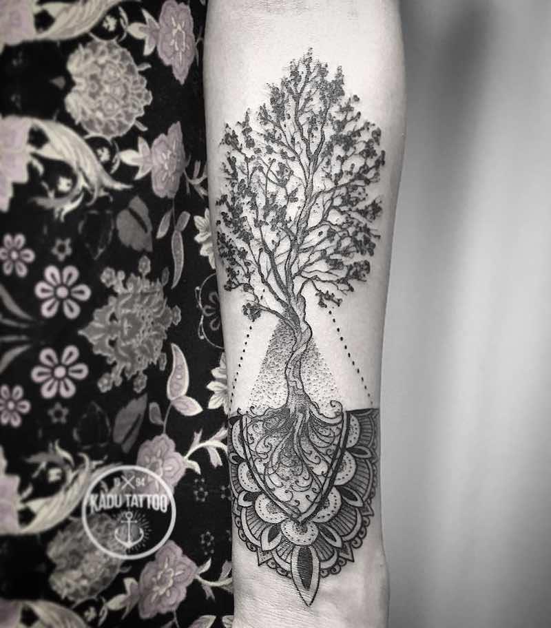 Tree Tattoo Kadu