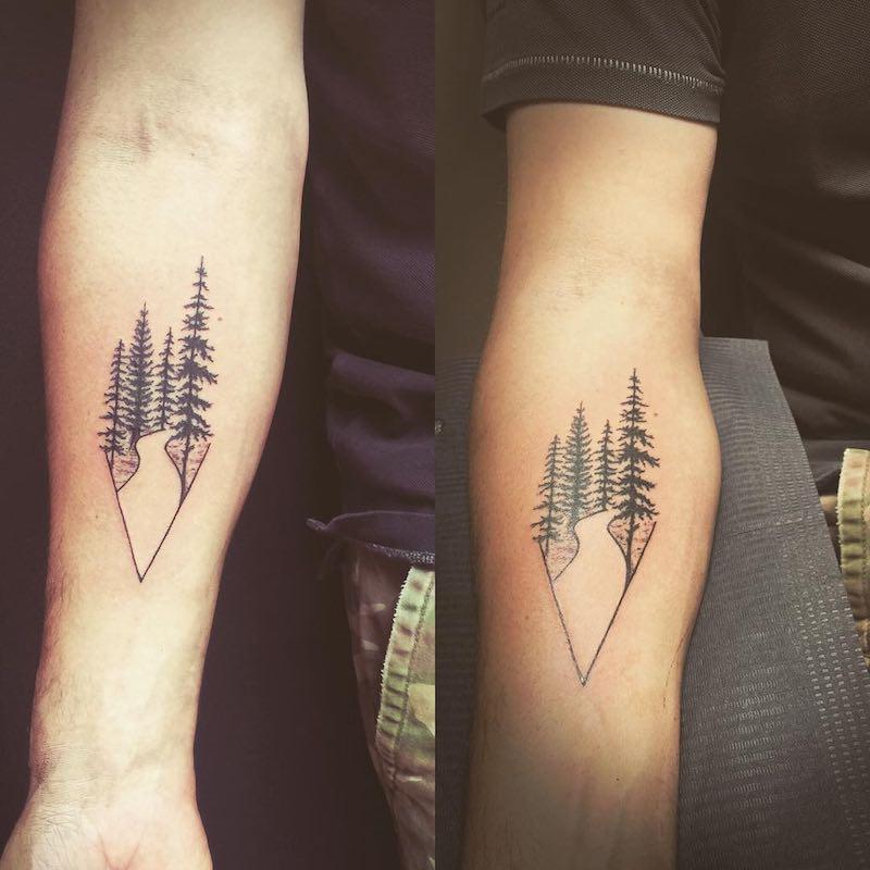 Tree Tattoo by Carolina Toscano