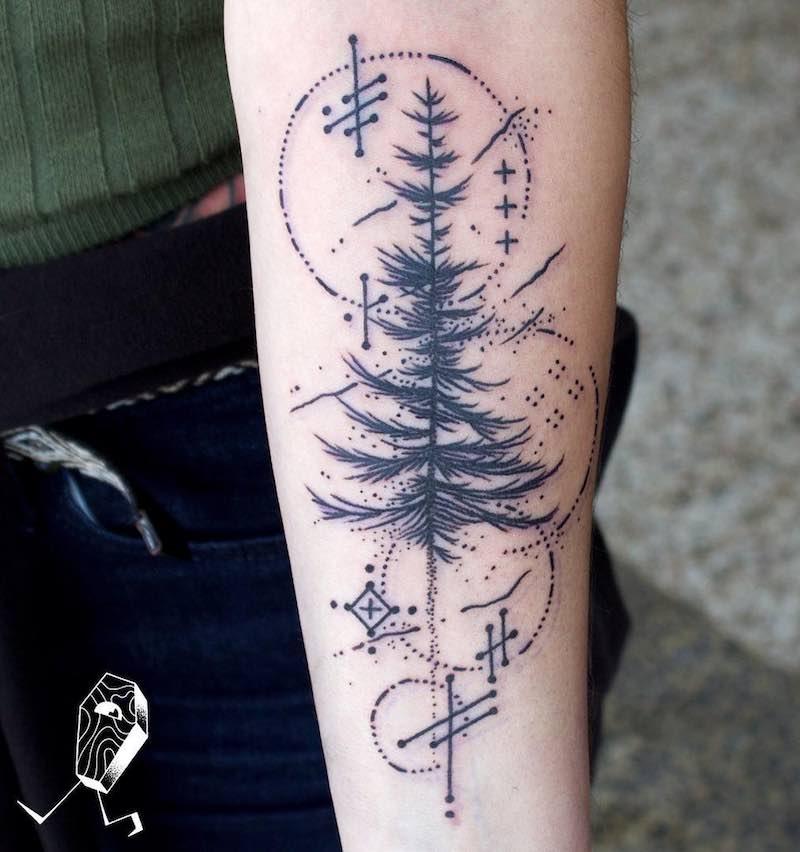 Tree Tattoo by Dedleg
