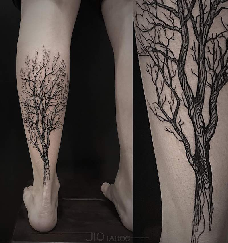 Tree Tattoo by Jio