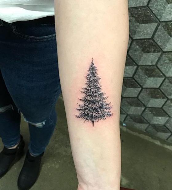 Tree Tattoo by Kif