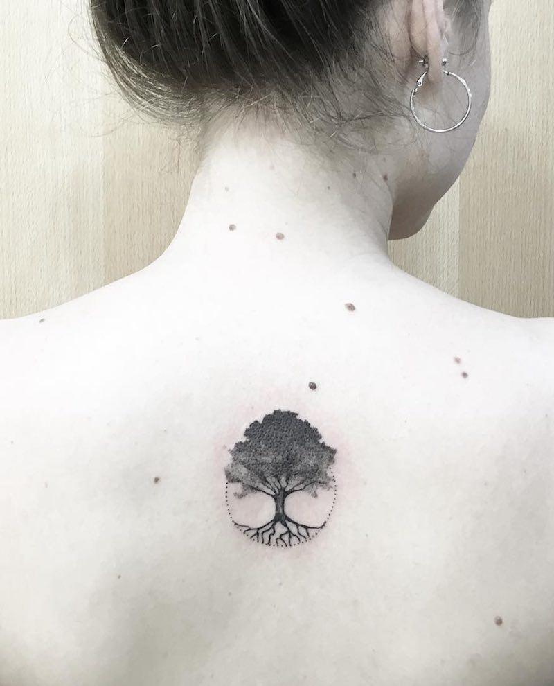 Tree Tattoo by Marilo