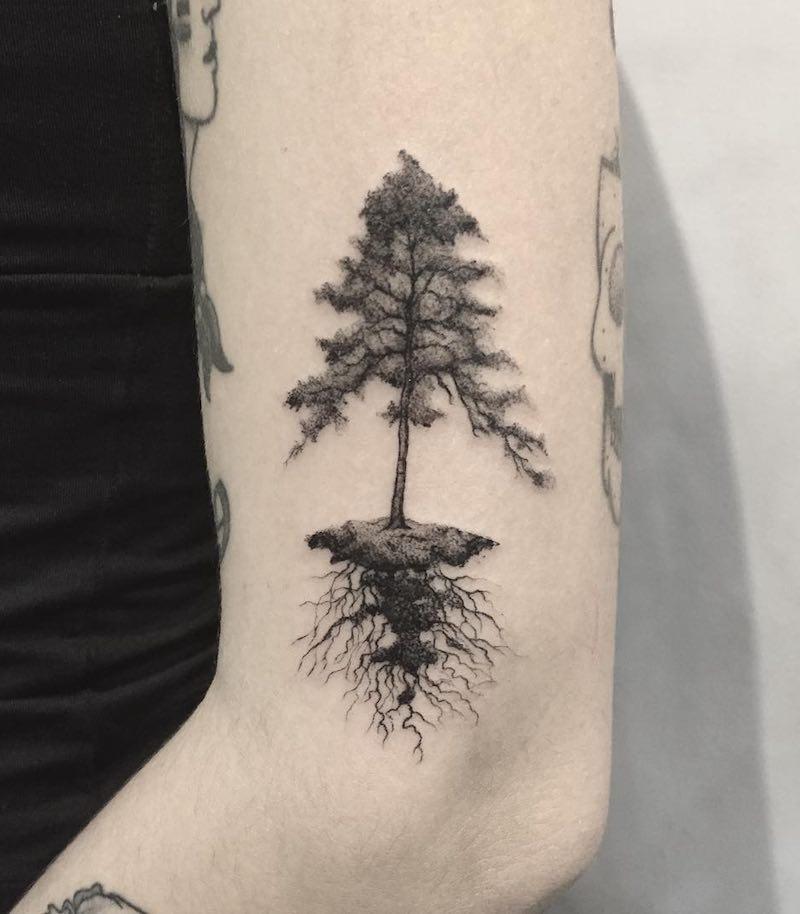 Tree Tattoo by Max Bonari