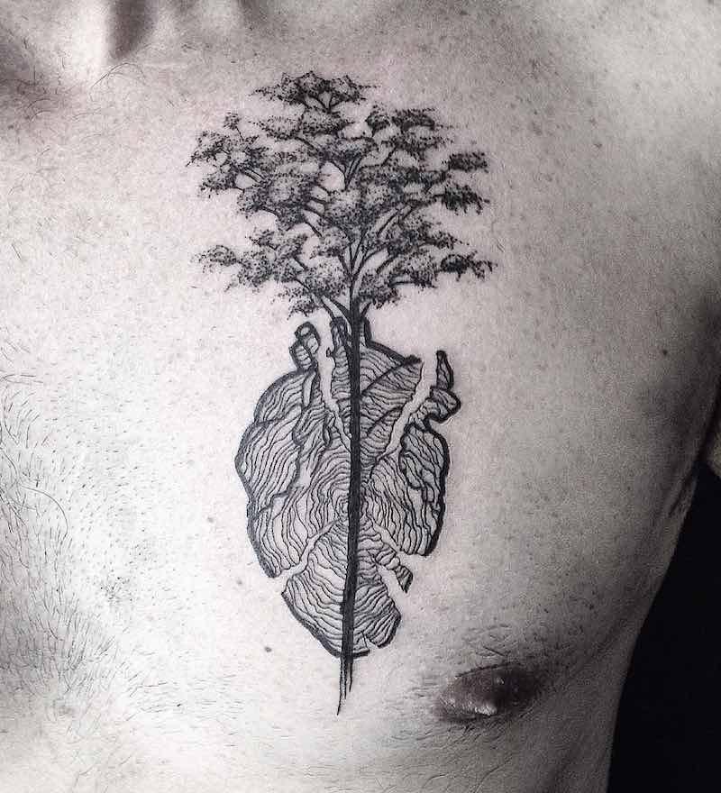 Tree Tattoo by Sandra Cunha