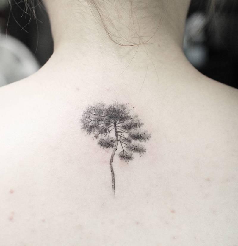 Tree Tattoo by Tattooist Sodam