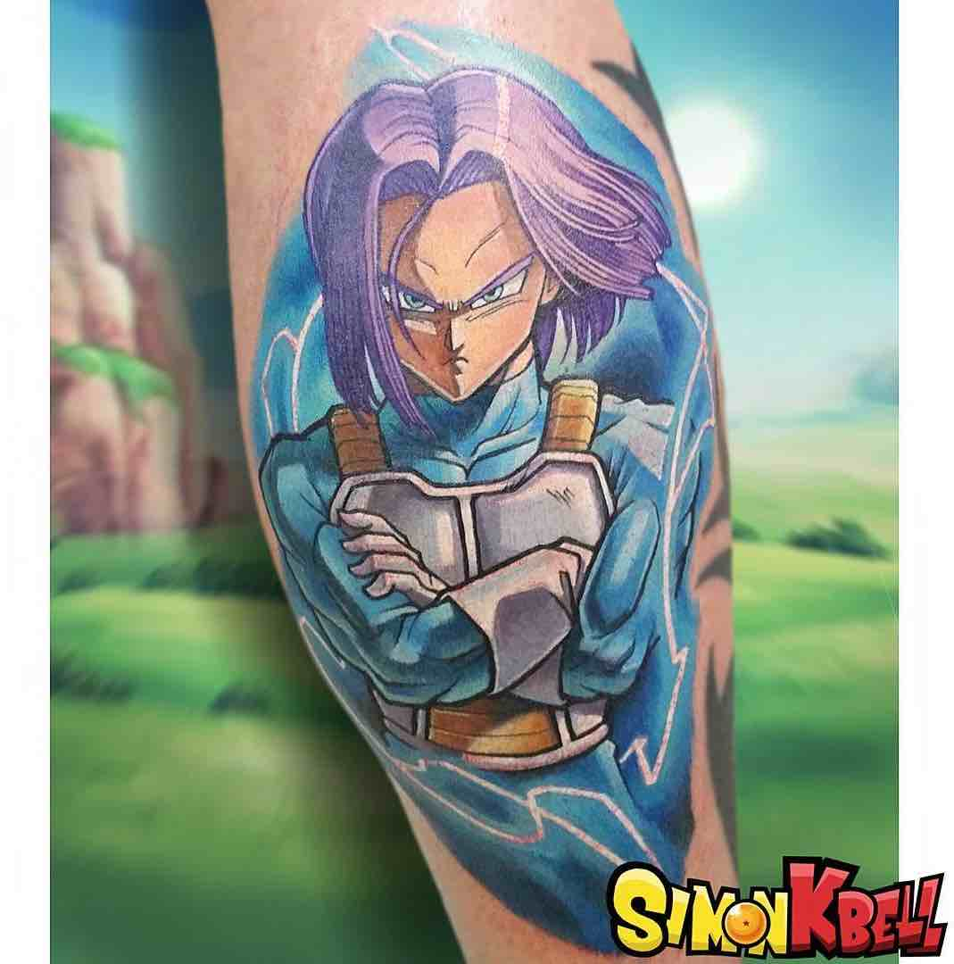Trunks Tattoo by Simon K Bell