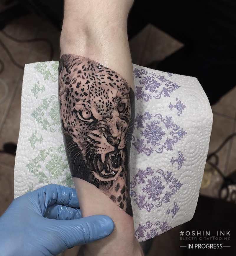 Jaguar Tattoo by Oshin