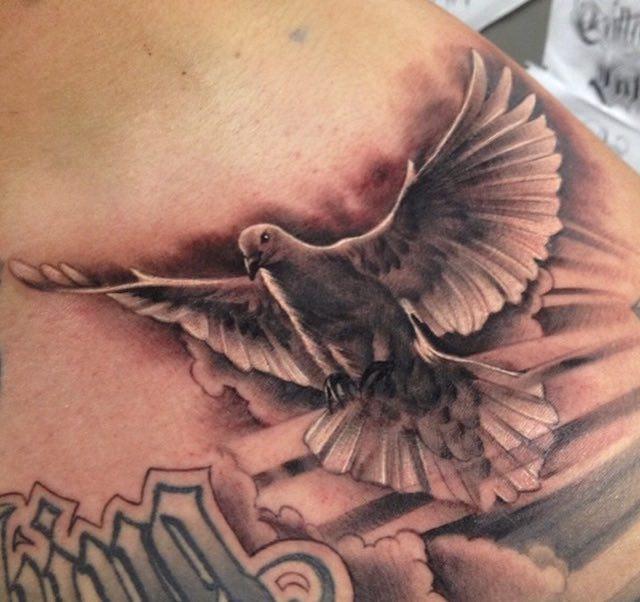 Dove Tattoo Manuel Valenzuela