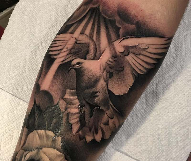 Dove Tattoo by Clifford Chen