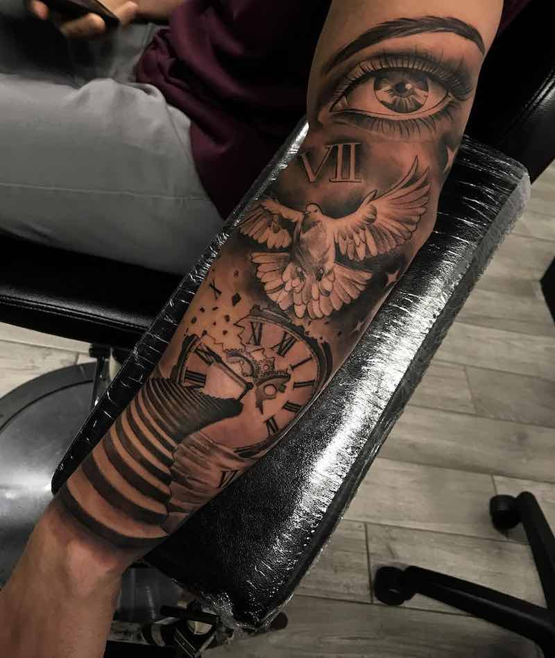 Dove Tattoo by Jeffry Mendoza