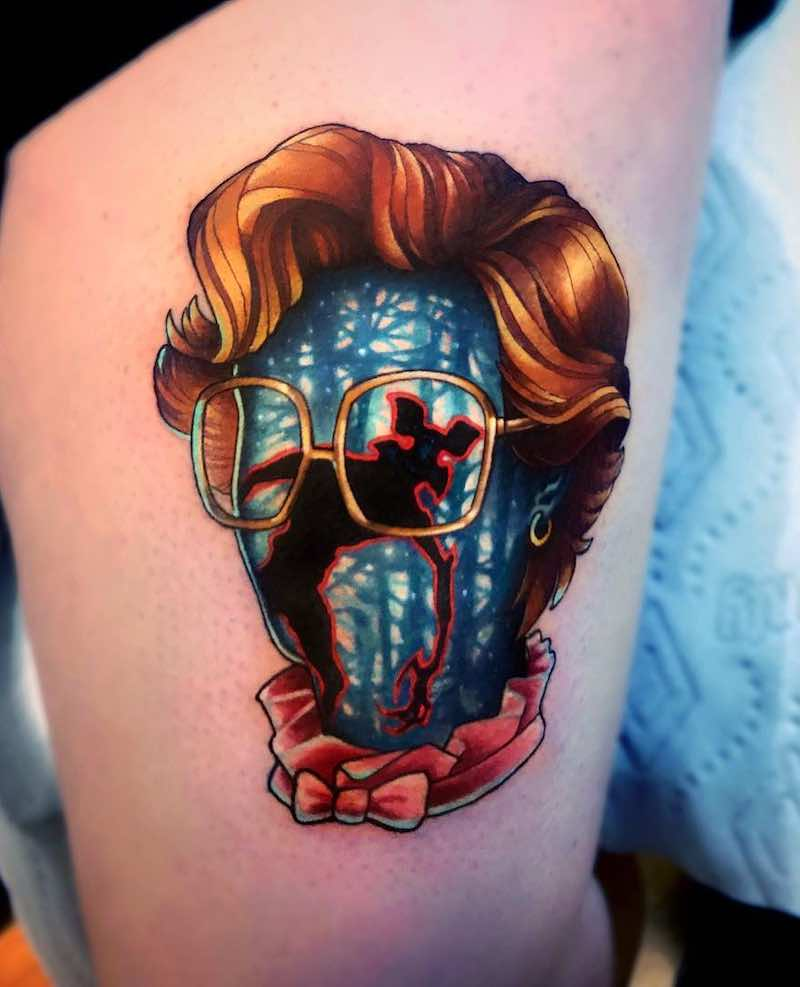 Barb Stranger Things Tattoo by Jeremy Sloo