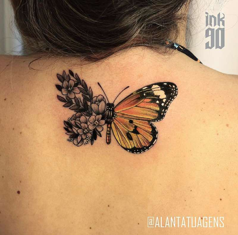 Butterfly Tattoo by Alan Victor
