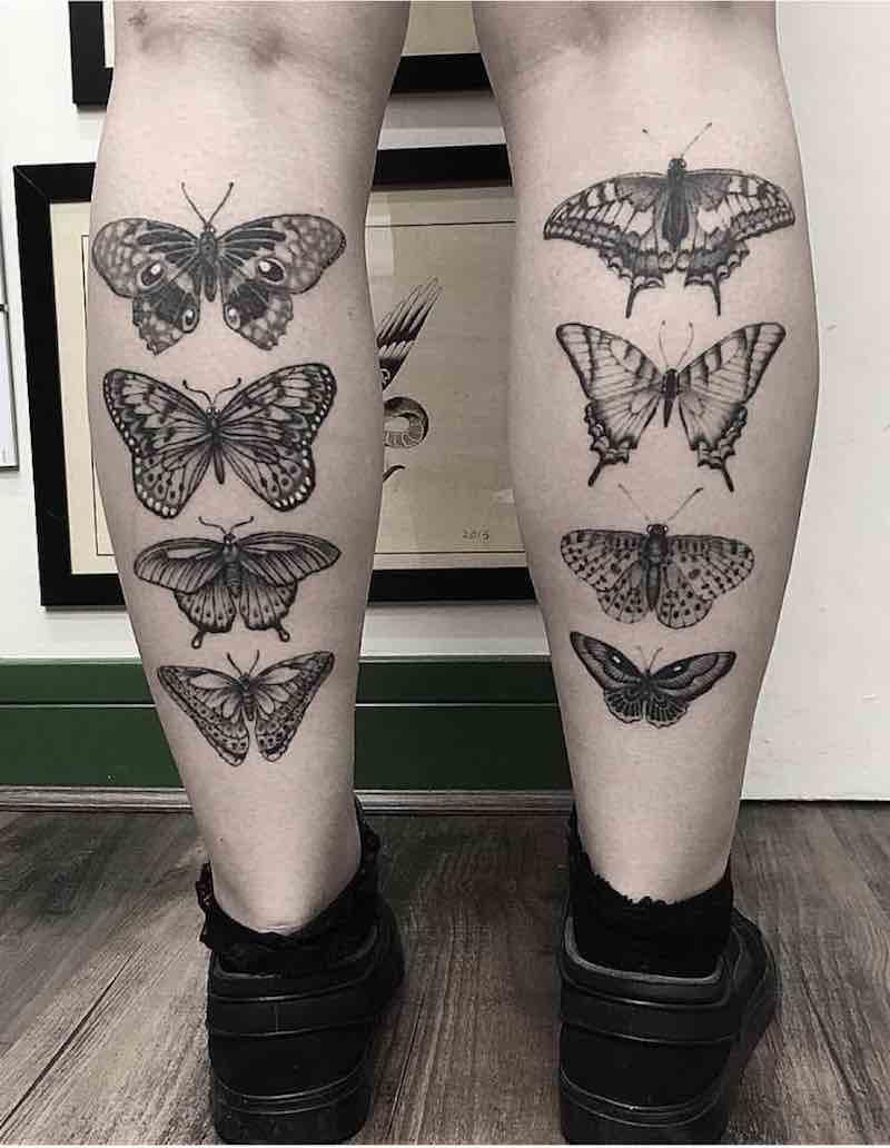 Butterfly Tattoo by Barbara Rebelo