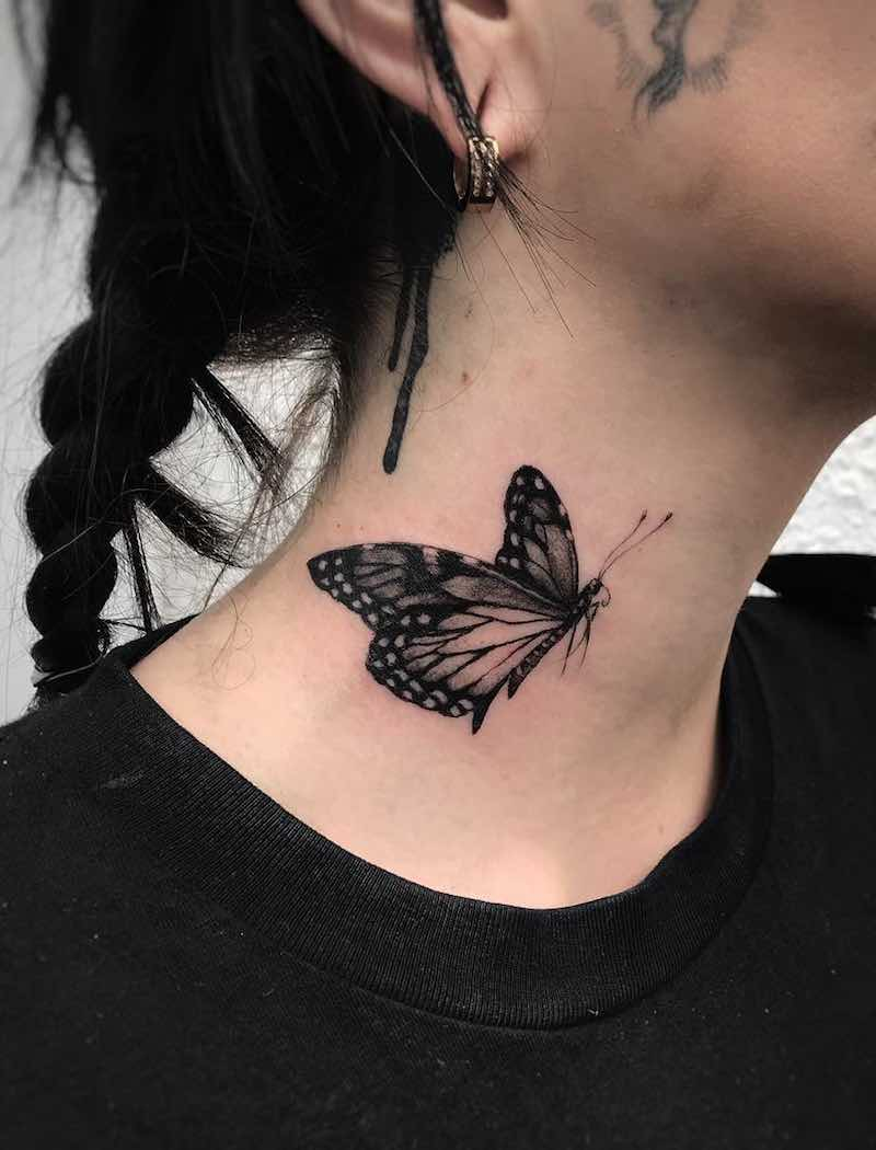 Butterfly Tattoo by Ed Taemets