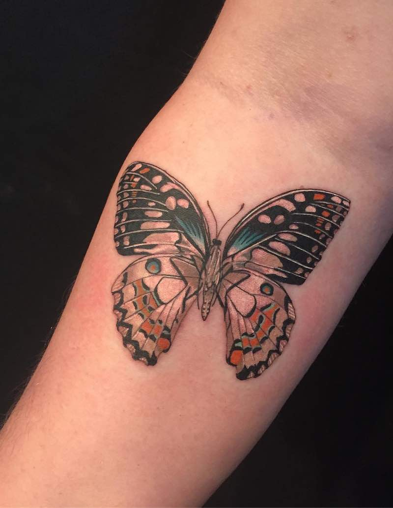 Butterfly Tattoo by Kevin Lewis