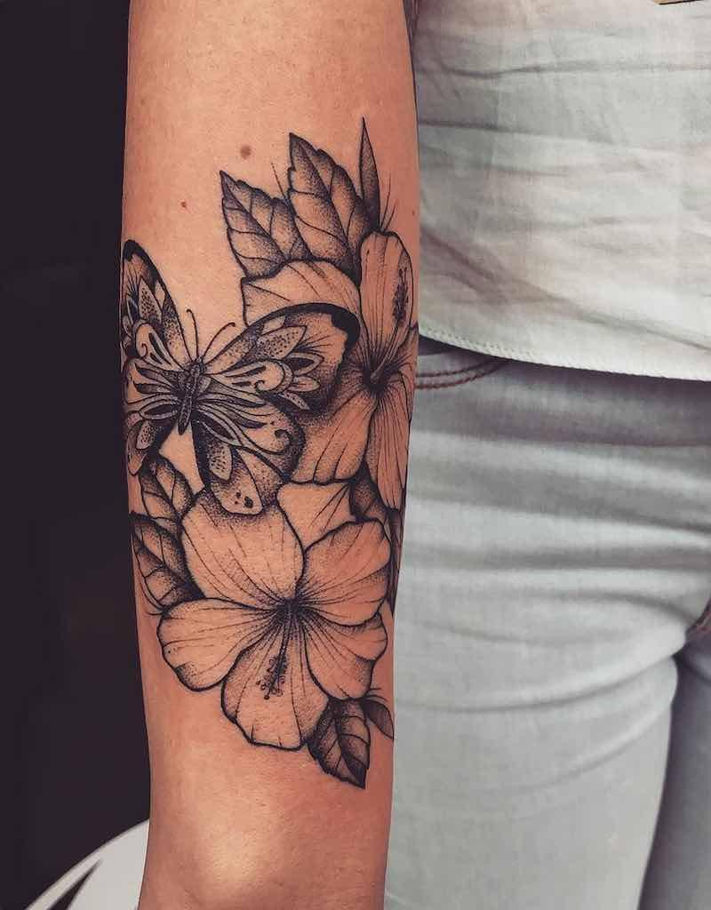 Butterfly Tattoo by Lucas Menezes
