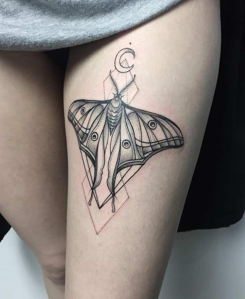 Butterfly Tattoo by Sasha Masiuk