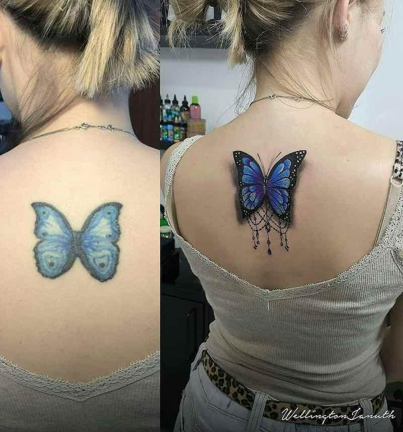 Butterfly Tattoo by Wellington Januth