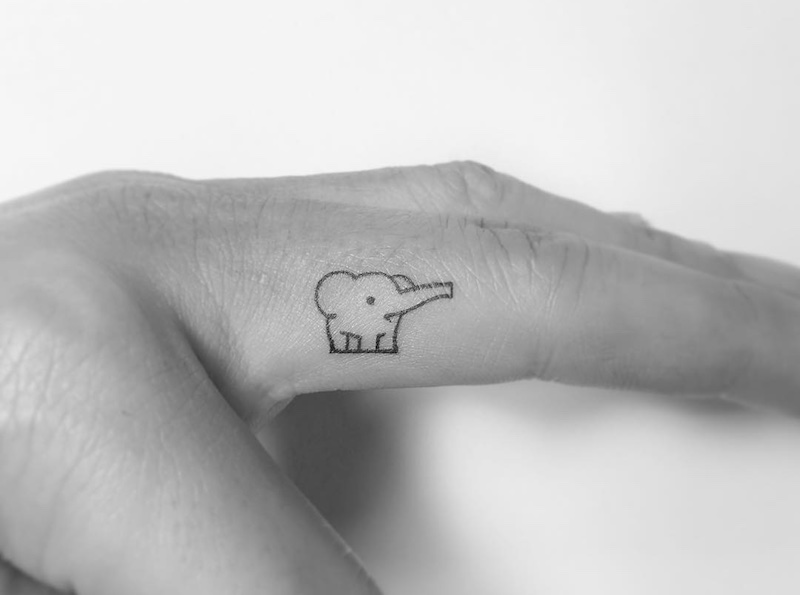 Elephant Tattoo by Playground Tattoo