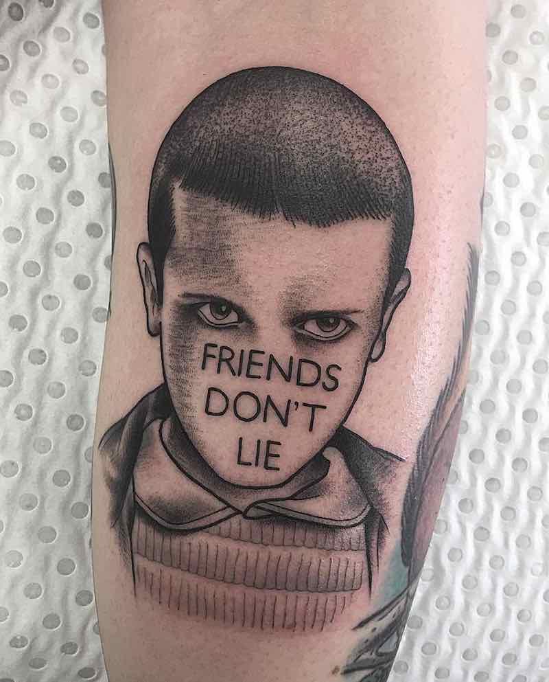 The Best Stranger Things Tattoos