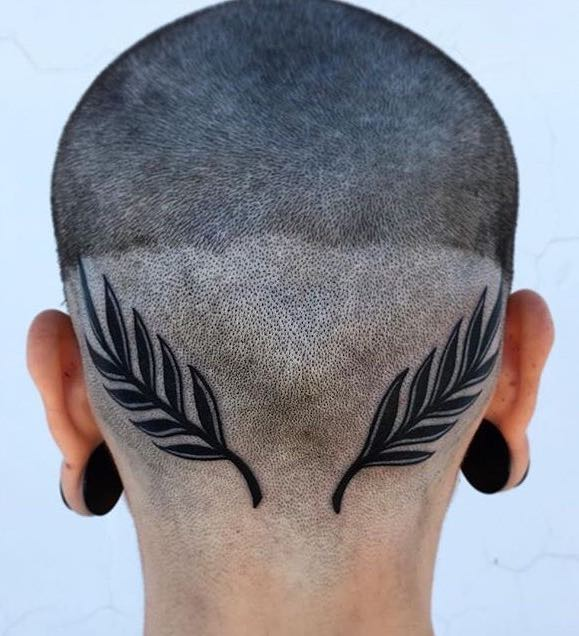 Head Tattoo by Elperro Caiazza