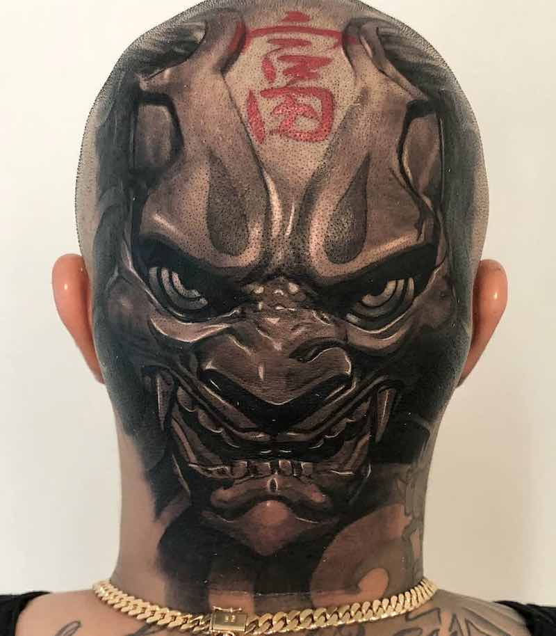 Head Tattoo by Wilson Pan