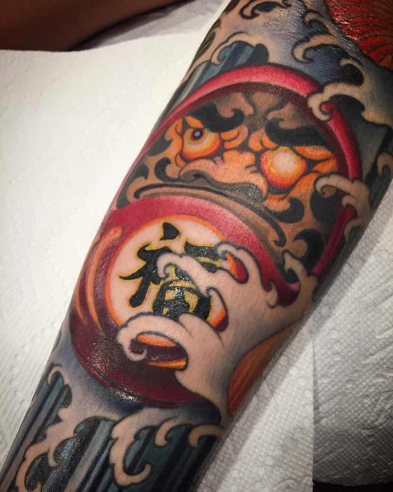 Japanese Tattoo by Yushi