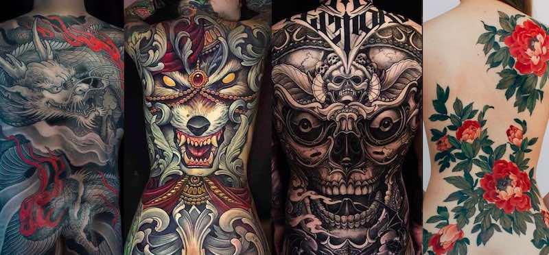 68 Best Back Tattoos
