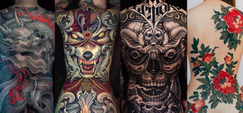 Best Back Tattoos