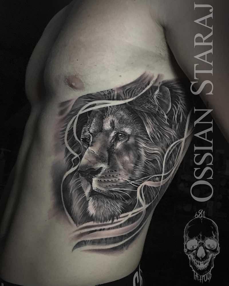 Lion Tattoo - Ossian Staraj