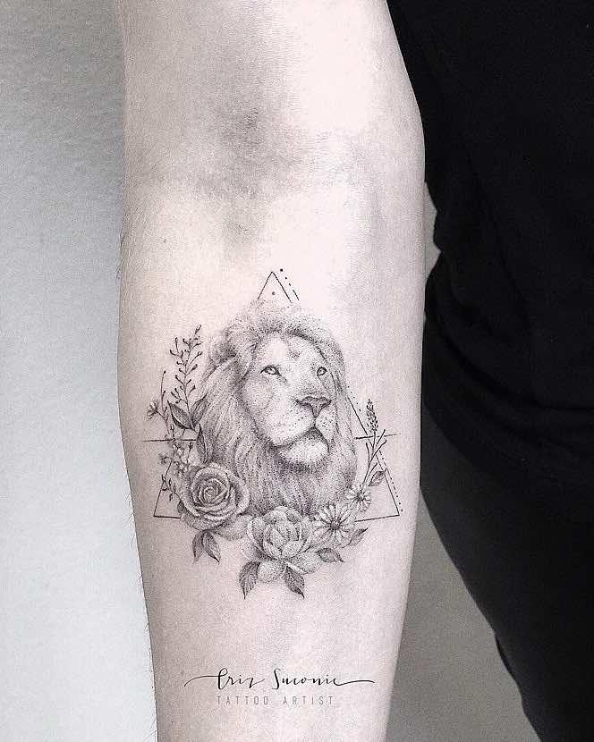 Lion Tattoo by Criz Suconic